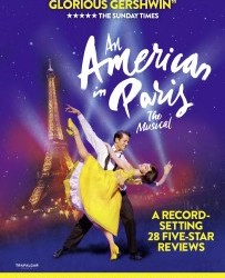 Wednesday 16th May: An American in Paris – The Musical