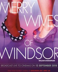 Wednesday 12th September - RSC Live: The Merry Wives of Windsor