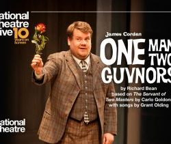 Thursday 26th September - NT Live: One Man, Two Guvnors (Encore)