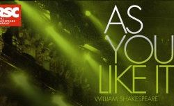 Wednesday 17th April - RSC Live: As You Like it